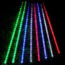 Светодиодные трубки «метеоритный дождь» для уличного праздника