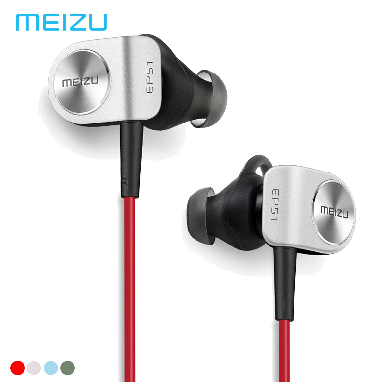 все цены на Meizu ep51 Original Earphone Wireless earphones Bluetooth Sport Headset Waterproof Stereophone in Ear With Mic PK ep52 APT-X онлайн