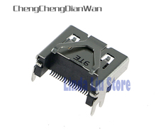 3pcs Original New HDMI Port Socket Interface Connector for PS4 Slim pro HDMI socket Motherboard Port Jack Connect
