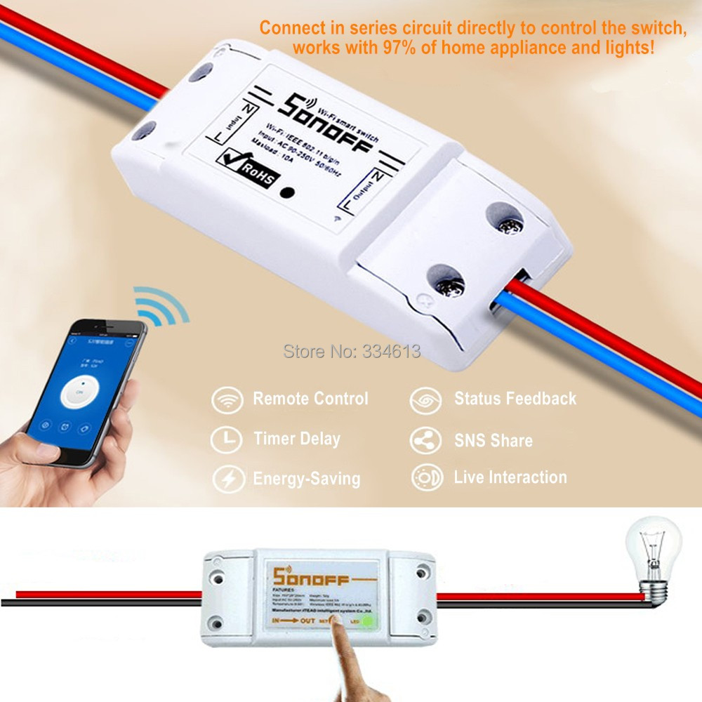 Sonoff Dual Wireless Switch Smart Home Automation Device Timer Wifi DIY Remote Control Switch for IOS Android dc 12v led display digital delay timer control switch module plc automation new