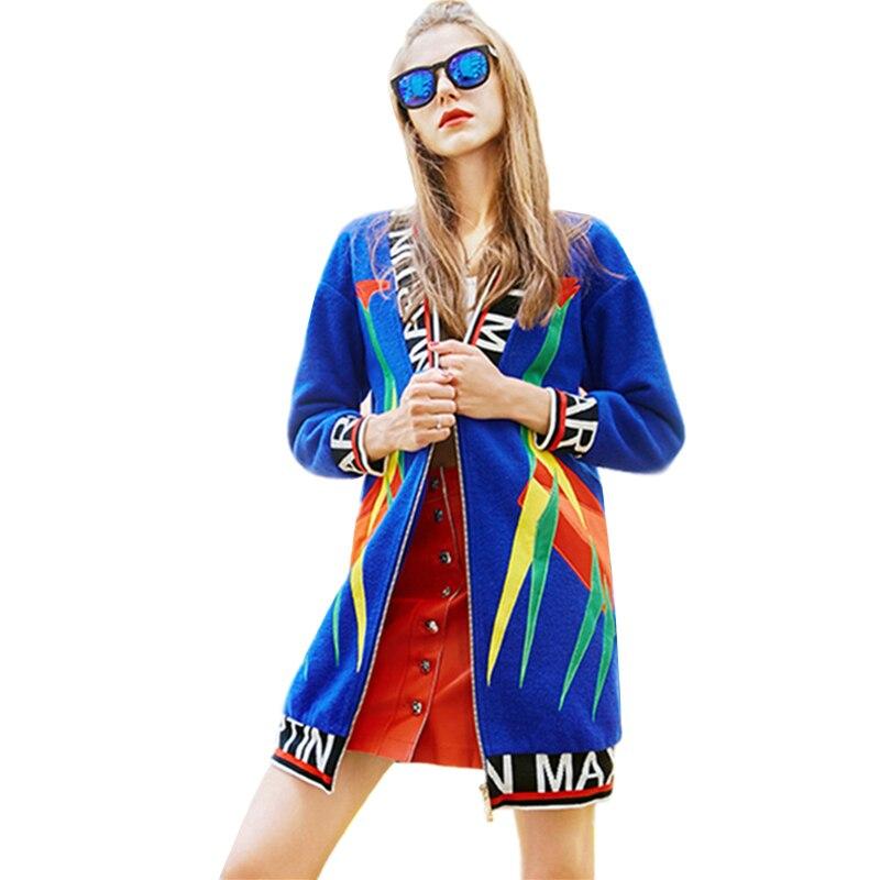 Longues Manteau D'hiver Femmes Veste Bleu V Manches Patchwork Lettre Plus Col En La Imprimer Taille Blue Pardessus Femme Automne Laine Parkas Casual À w48wq0R
