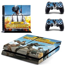 Game PUBG PS4 Skin Sticker Decal Vinyl For Sony PS4 PlayStation 4 Console and 2 Controllers PS4 Skin Sticker metro exodus ps4 skin sticker decal vinyl for sony playstation 4 console and 2 controllers ps4 skin sticker