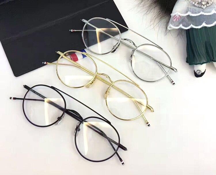 De alta Qualidade Da Marca TB101 Piloto dos homens Do Vintage Óculos Mulheres Retro Oversized Óculos Quadro Miopia Optical Óculos de Leitura