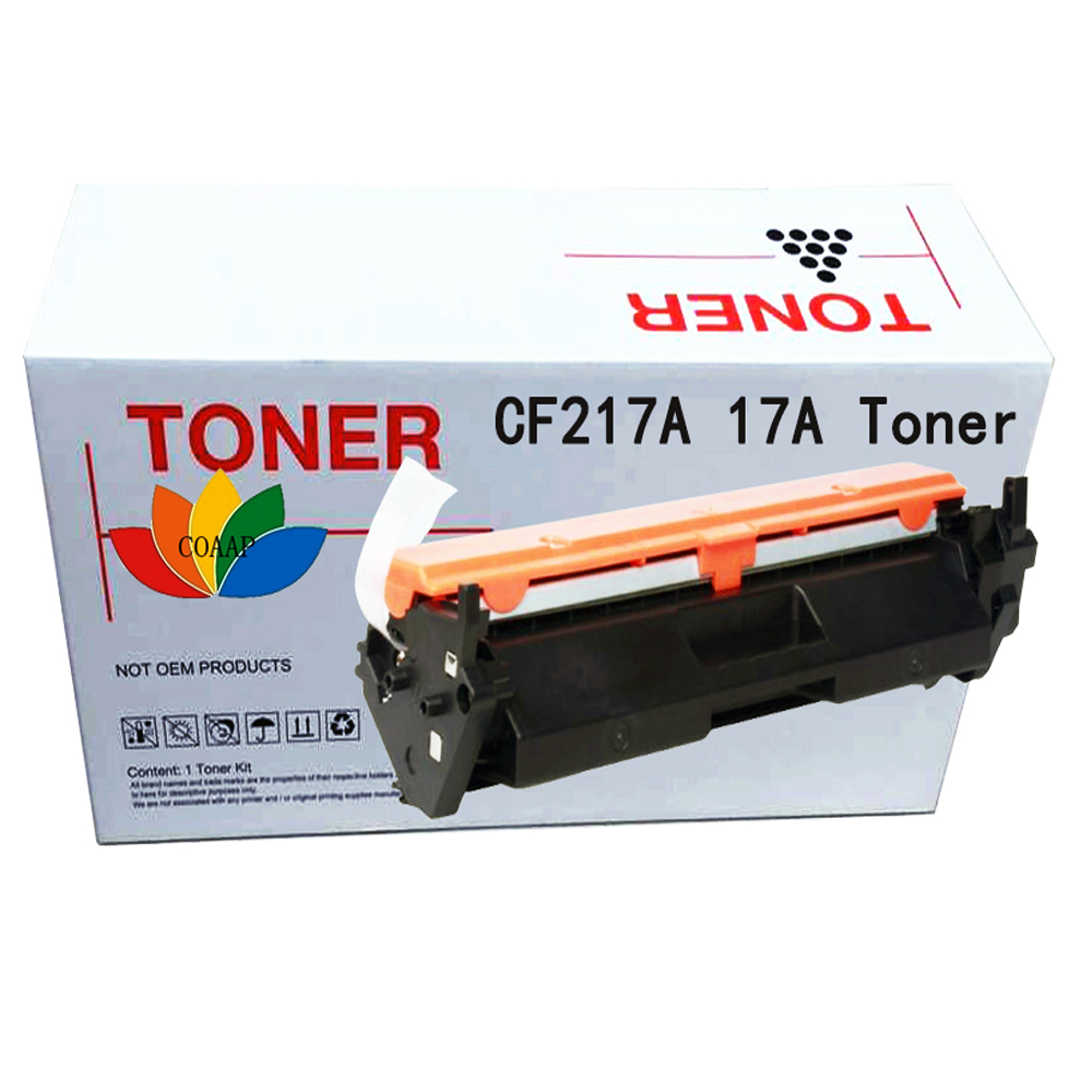 1x Compatible CF217A 17A 217A Toner Cartridge for HP Laserjet Pro MFP M130a M102a M102w Printer use for hp 4730 toner cartridge toner cartridge for hp color laserjet 4730 printer use for hp toner q6460a q6461a q6462a q6463a