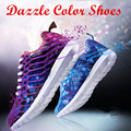 2017 New Adult Unisex Dazzle Color Casual Shoes Men Summer Trainers Breathable Sport Non-slip Lightweight Zapatillas Mujer