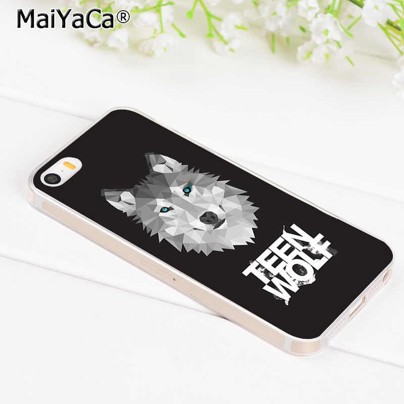 MaiYaCa ديلان أوبراين التين وولف شفافة لينة غطاء إطار هاتف محمول آيفون 8 7 6 6S زائد X XS ماكس XR 5 5s SE 5C حافظة