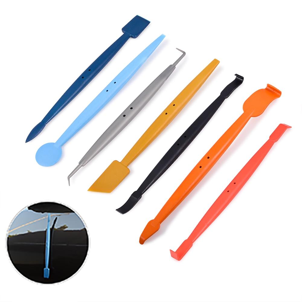 EHDIS Long Handle Magnet Squeegee Ice Scraper Window Tints Tool Vinyl Film Car Wrap Sticker Glue Remover Water Wiper Scraper