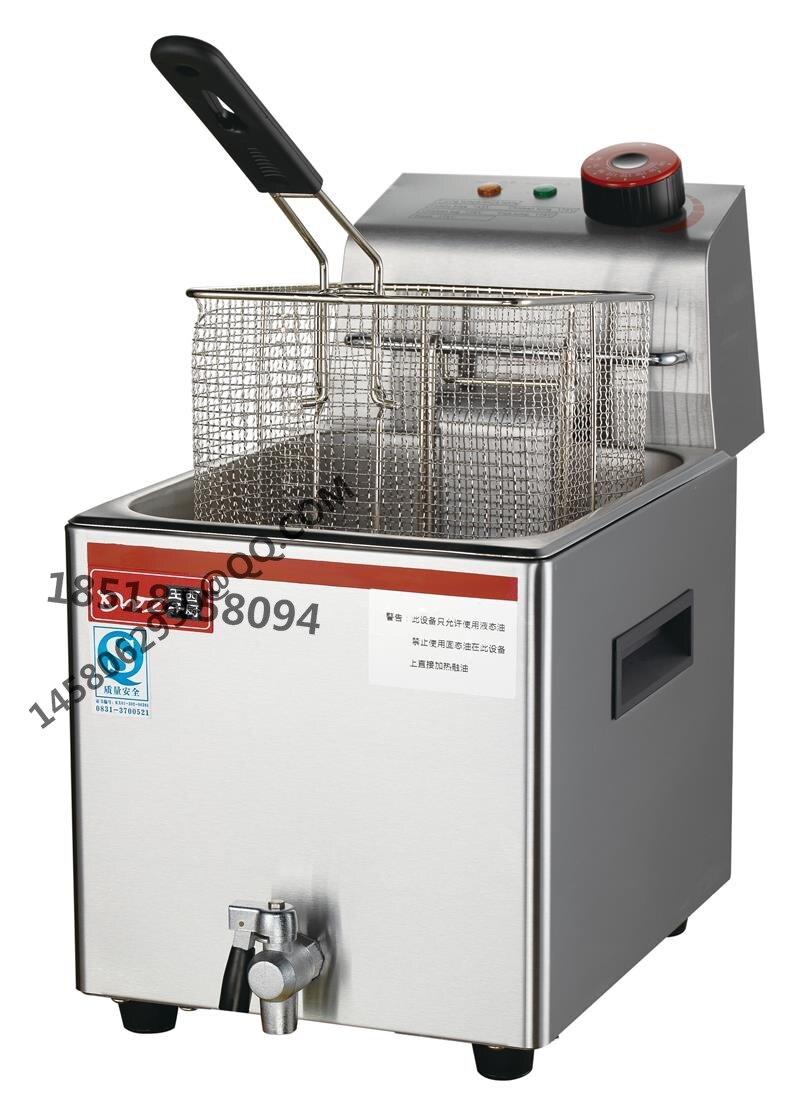 ce approval hot sale deep single tank electric fryer potato chip fryer stainless steel electric turkey