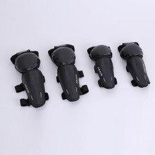 Гонок Наколенник Локоть беговые защитная одежда четыре бумажный набор Гладкий шаг транспортного средства безопасности езды багаж подготовка