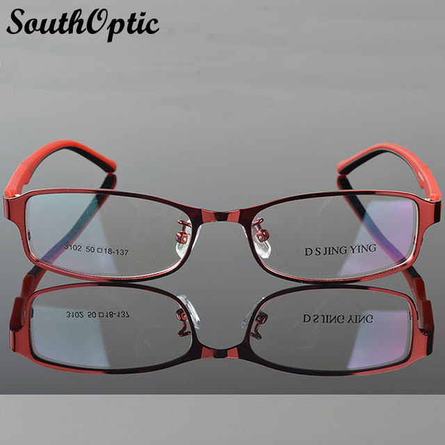 2016 New Morden Steel Plate Stainless Steel Excellent Glasses Women 3102 Prescription Optical Frame Beautiful Eyeglasses Frame