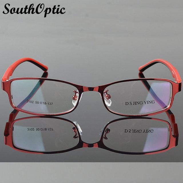 2016 nova Morden aço chapa de aço inoxidável excelentes mulheres óculos de 3102 prescrição Frame ótico belo óculos armação