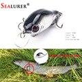 Marca realista VIB flotante de señuelo de Pesca 5,5 CM 9G Pesca ganchos pescado Wobbler abordar Crankbait Artificial Japón cebo duro