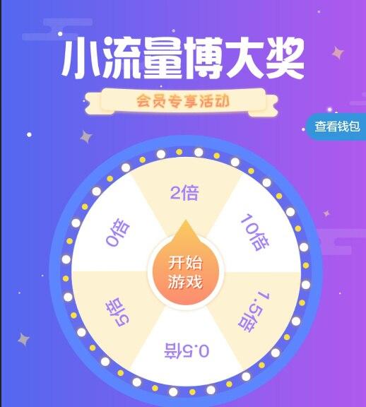 #中国联通#小流量博大奖,中奖概率很高!