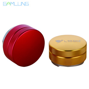 Gamlung Brand 58mm Adjustable Macaron Coffee Tamper Coffee Tamper Three Angled Slopes Pressure Hammer Tool For Coffee Machine