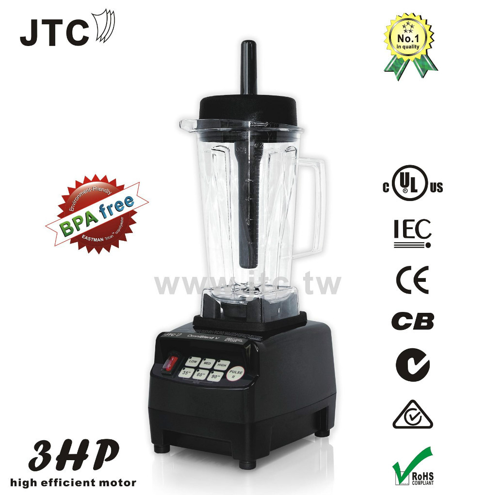 1200W Heavy duty commercial blender with BPA free jar, Model:TM-800T, Black, FREE SHIPPING jtc heavy duty commercial blender with pc jar model tm 800 black free shipping 100