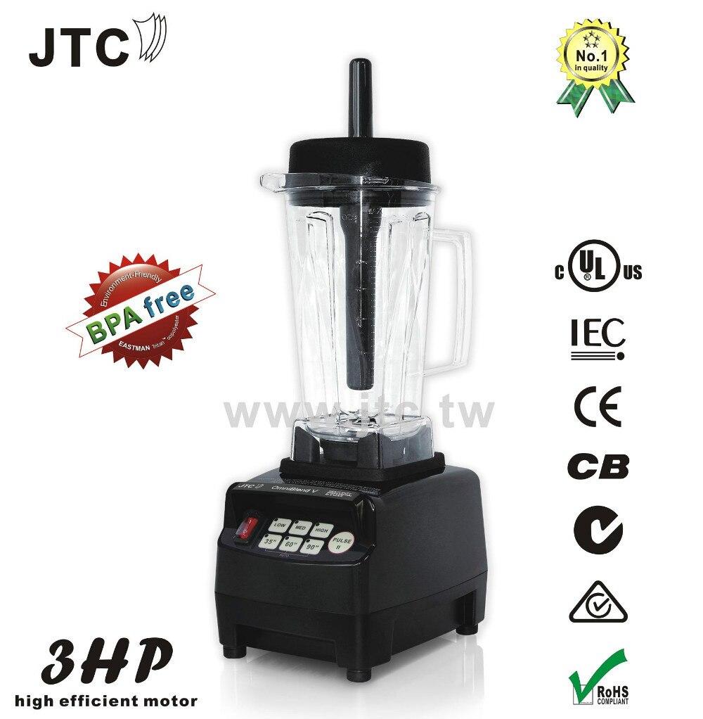 BPA Livraison 3HP Heavy duty commercial blender, Modèle: TM-800T, Noir, LIVRAISON GRATUITE