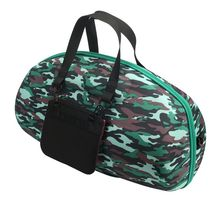 High Quality Portable Camouflage Pattern Travel EVA Material Carry Case Cover Bag For Boombox Bluetooth Wireless Speaker