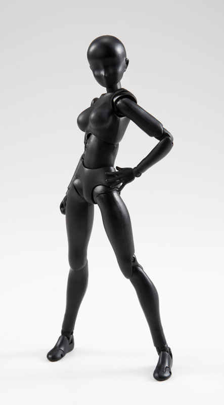 Bandai tamashii אומות אמיתי prettyangel-s. h. figuarts גוף-צ 'אן (צבע שחור מוצק ver.) פעולה איור