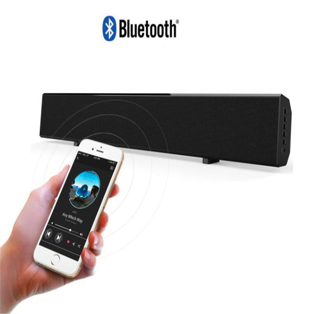 Bluetooth Full Center Speakers TV Soundbar Home Theater Audio System Surround Sound Cinema Active Bluetooth Column TV Soundtrack