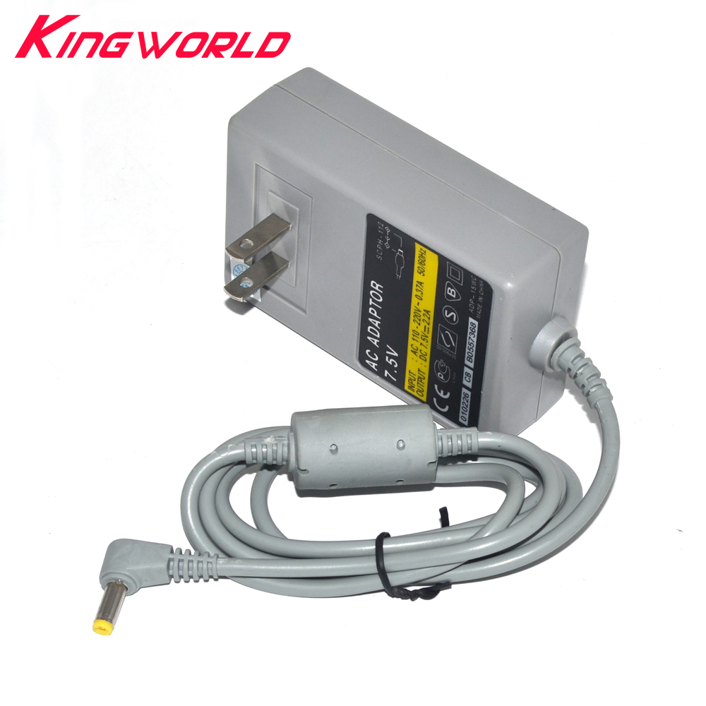 100pcs High Quality US version AC Adapter charger Power Cord for P-S1 PS one For Sony P-laystation 1 Game Console Accessories