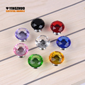 2017 Hot sale 10PCS 30mm Kitchen Cabinet Drawer Handle Modern Decorative Furniture Accessories Wholesale Crystal Knobs