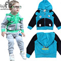 1-4years set velvet casual wear cartoon boys baby kids children Infant Clothing Clothes Garment sport suit spring autumn fall