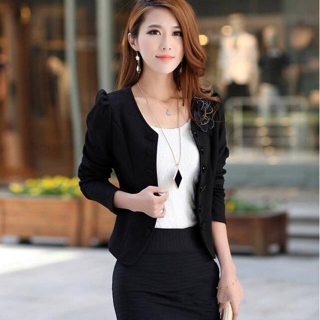 Compare Prices on Short White Blazer Women- Online Shopping/Buy ...