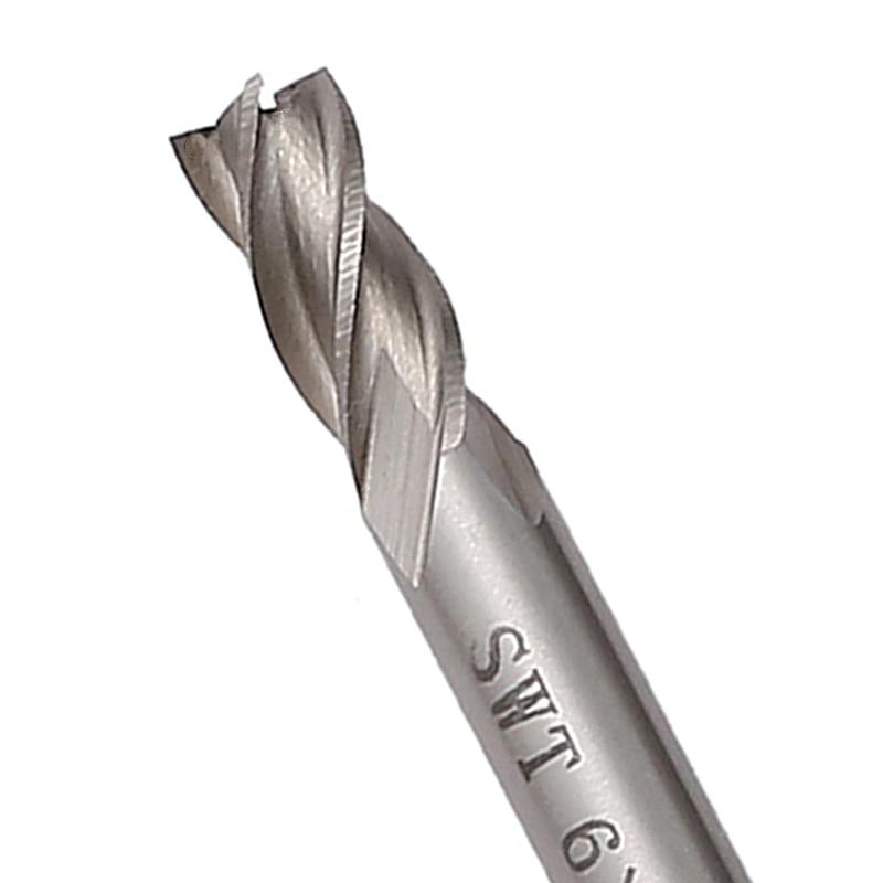 7dílná fréza z tvrdokovu HSS 4 drážky, fréza 1,5 mm - 6 mm, - Obráběcí stroje a příslušenství - Fotografie 2