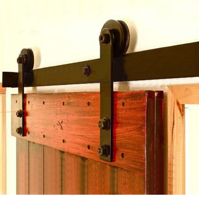 Hot Barn Door Hardware Accessories American Wood Sliding Door Sliding Door  Pulley Hanging Interior Doors Slide