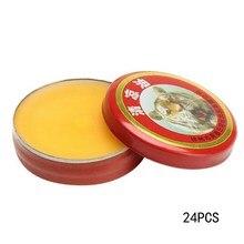 24Pcs Red Tiger Head Menthol Balm Refreshing Relief Headache Essential Oil