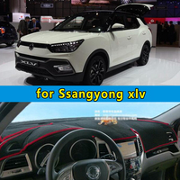 dashmats car styling accessories dashboard cover for Ssangyong xlv 2016