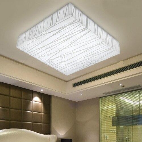 new 2016 square led ceiling light size 290 290mm ac85v 220v bedroom ceiling lamps modern acrylic. Black Bedroom Furniture Sets. Home Design Ideas