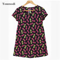 Nightgowns Women Summer Lounge 100% Cotton Animal Nightgown Print Loose Short-sleeve Sleepwear Women's Lounge Sleepshirts
