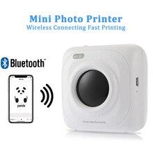 Портативный принтер с Bluetooth мини беспроводной Pos тепловой фото принтер картинок для iOS, Android оконные рамы