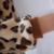 Urso Flanela Pijamas Das Mulheres Dos Homens do leopardo Siamese Pijamas Engrosse Adulto Crianças Amantes Quentes Família Equipado Inverno Animal Pijama