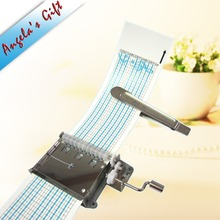 Angelas gift Free shipping DIY 20 notes music box Hand crank Paper Strip mechanism, unusual gifts, birthday gifts