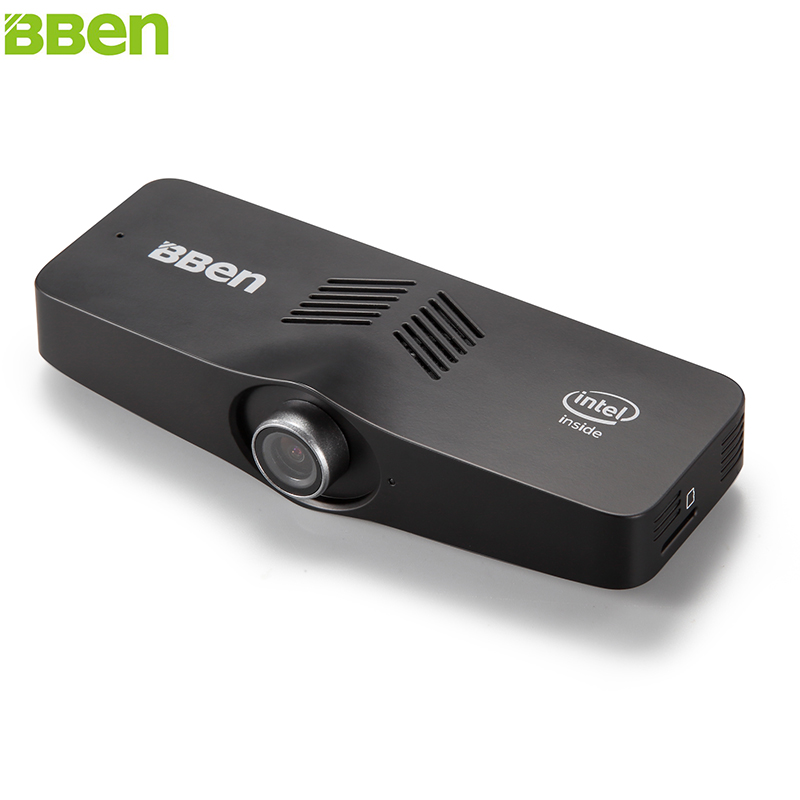 BBEN C100 Mini PC Windows 10 Intel X5 Z8350 Dört Çekirdekli 2G + 32G 4G + 64G USB3.0 USB2.0 Kamera Ev Ticari Mikro PC Mini