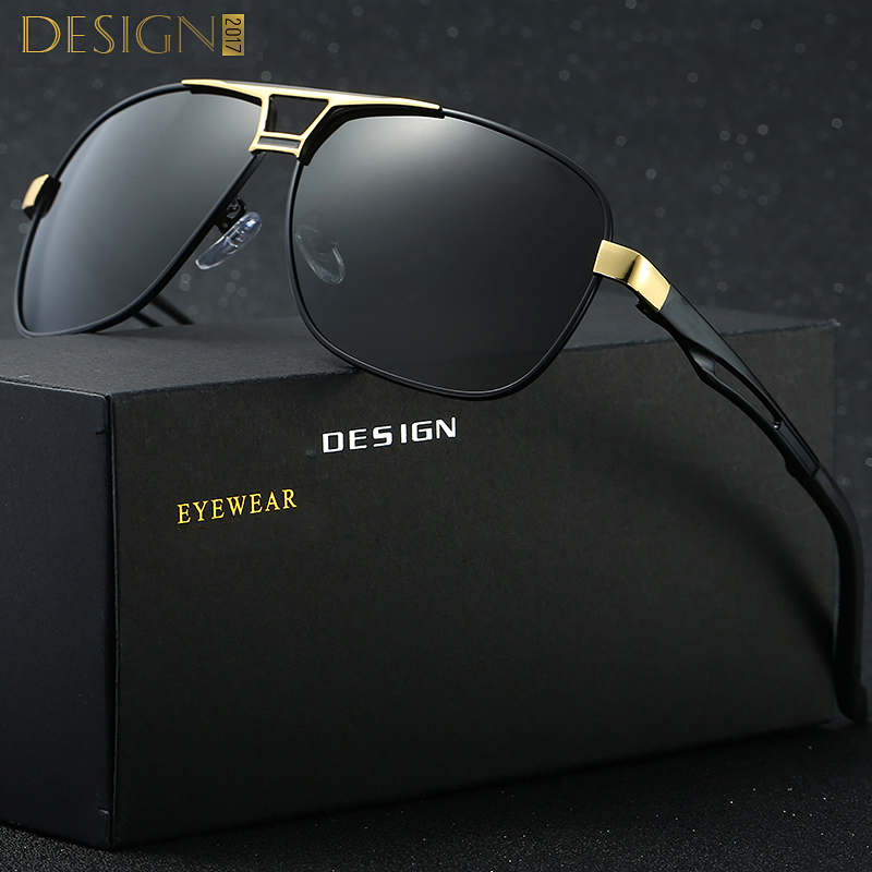 10 Unids lote Men Classic Rectángulo Gafas de Sol Polarizadas HD Aluminio  Polarizado de Conducción gafas de Sol Para Hombre Marca de Lujo gafas de  manera ... 9121e81db44e