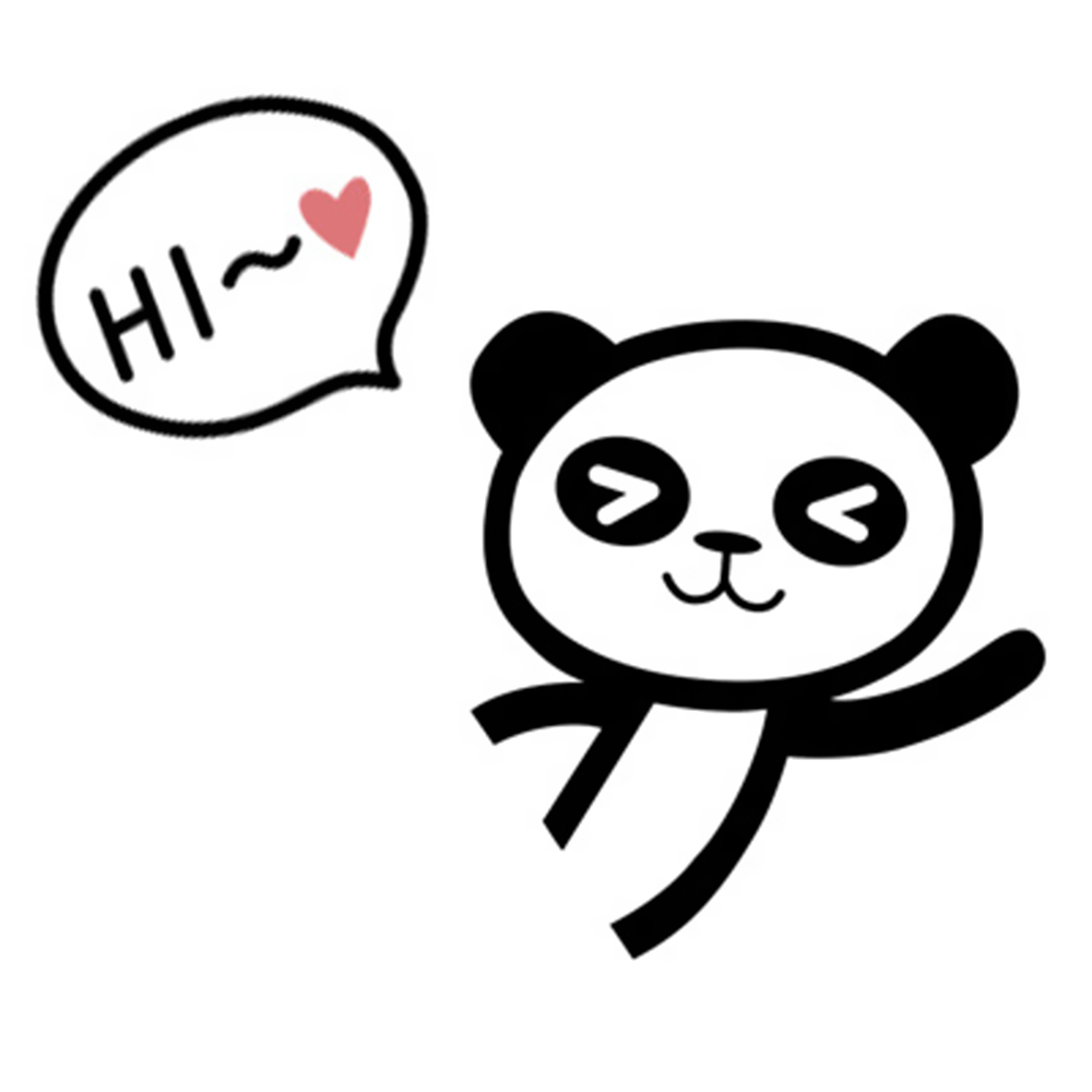 DIY Cute Cat Panda Switch Sticker-Free Shipping For Bedroom Living Room