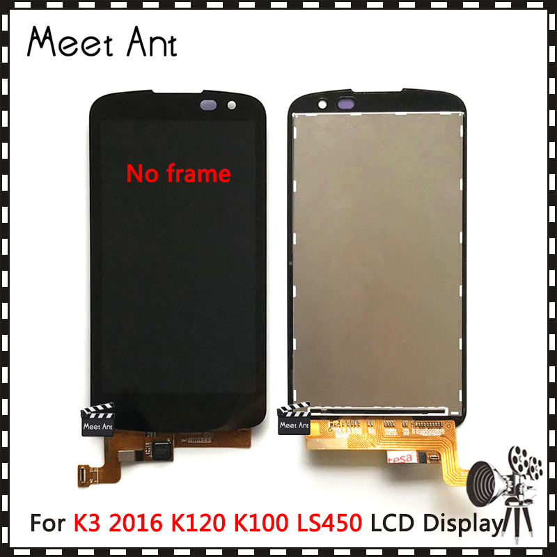 High Quality 4.5'' For <font><b>LG</b></font> K3 2016 K120 <font><b>K100</b></font> LS450 LCD Display Screen With Touch Screen Digitizer Assembly image