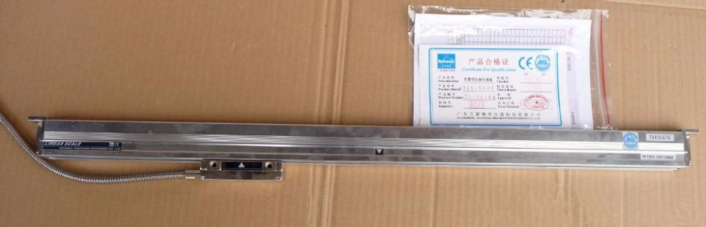 Rational WTA05 0.5um 200mm Linear Scale TTL 5V 0.0005mm Digital Linear Glass Scale Dro For Milling Lathe CNC