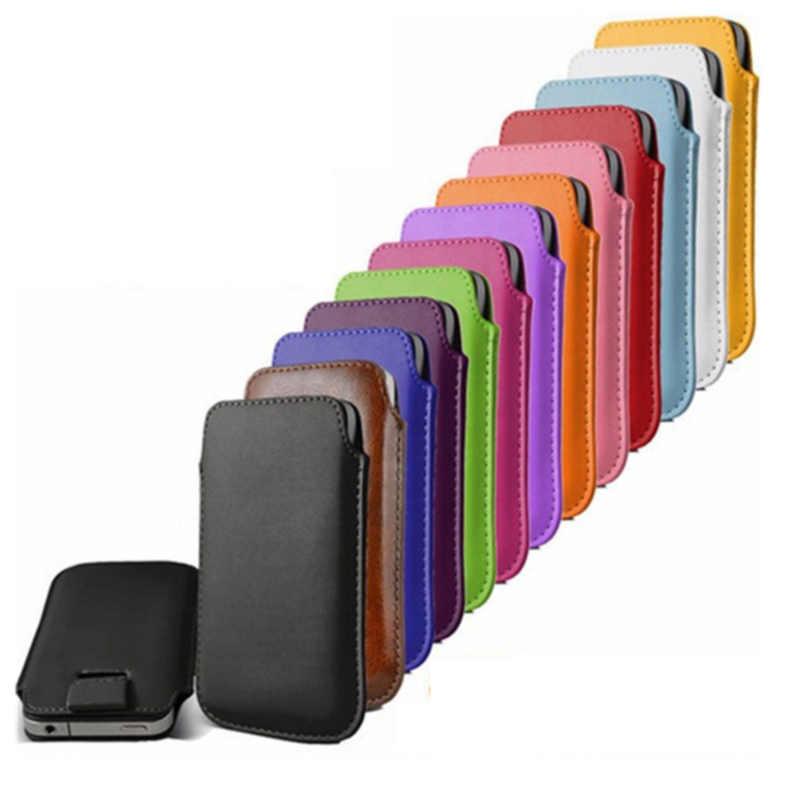 Funda de cuero funda para Samsung Galaxy Core II 2 Dual SIM G355H SM-G355H funda de bolsillo teléfono bolsa caso