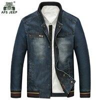 Autumn Winter Fashion Denim Jacket Men Jeans Slim Fit Mens Jackets And Coats Casual Bomber Jacket