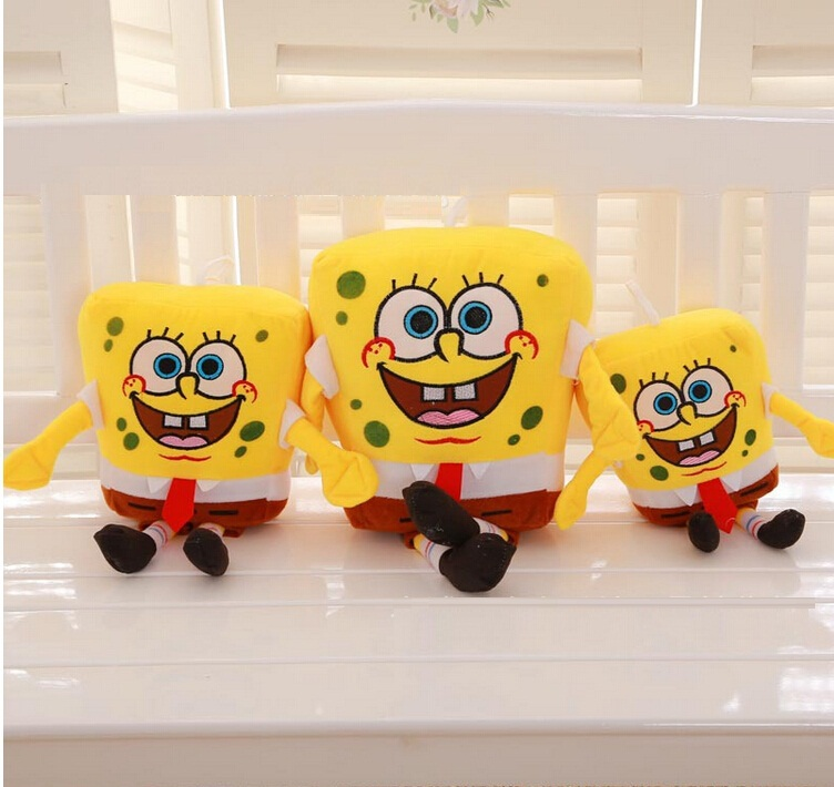spongebob cute doll pillow creative birthday gift plush baby toys