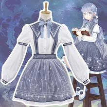 Miracle Nikki Cosplay Costume Lolita Flowing Garden Autumn Pick Star Classic Daily Dress все цены