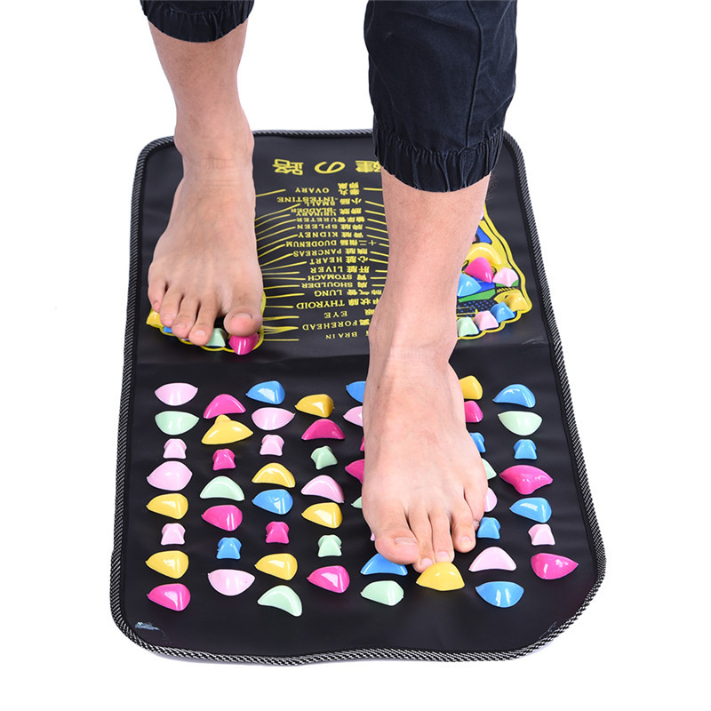 Magnetic therapy walk stones foot massager magnetic therapy massage mat stress pain relief squishes spa health and beauty stress personality factors and mental health among police personnel