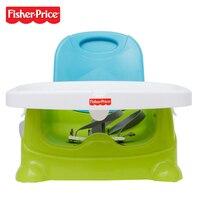 Оригинальный Fisher Price V8638 забота о здоровье сиденье ребенка ест стул и стол Kursi Макан Байи зеленый синий
