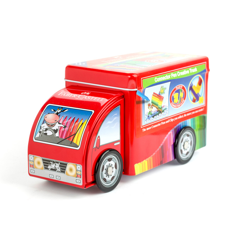 FABER CASTELL Promotional car 33 color can be puzzle intellectual watercolor pen children can wash color pen suitFABER CASTELL Promotional car 33 color can be puzzle intellectual watercolor pen children can wash color pen suit