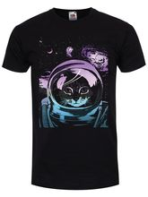 Unorthodox Space Kitten Men's Black T-shirt Men Tshirt Short Sleeve Print Casual Breaking Bad Print T Shirt For Men 2018
