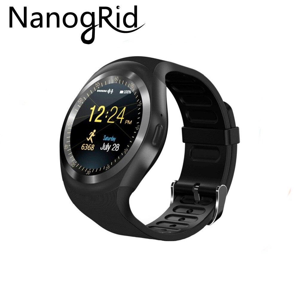 Smart Watchs Runde Unterstützung SIM TF Karte Mit Whatsapp Und Facebook Männer Frauen Business Smartwatch Für Xiaomi Android Telefon